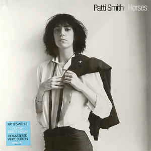 Patti Smith ‎– Horses - Vinyl, LP, Album, Reissue, Remastered - Flashlight Vinyl - Turntable Music