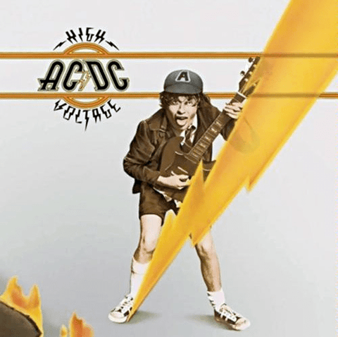 AC/DC ‎– High Voltage - Import - Flashlight Vinyl - Turntable Music