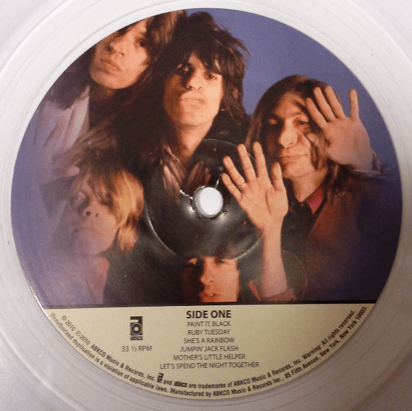 The Rolling Stones ‎– Through The Past, Darkly (Big Hits Vol. 2) - Flashlight Vinyl - Turntable Music