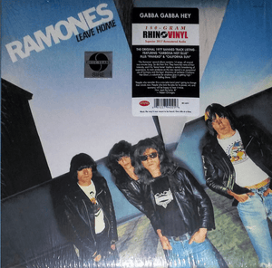 Ramones ‎– Leave Home - Reissue, Remastered, 180 gram - Flashlight Vinyl - Turntable Music