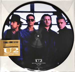"U2 ‎– Red Hill Mining Town (2017 Mix) Picture Disc 12"" Single"