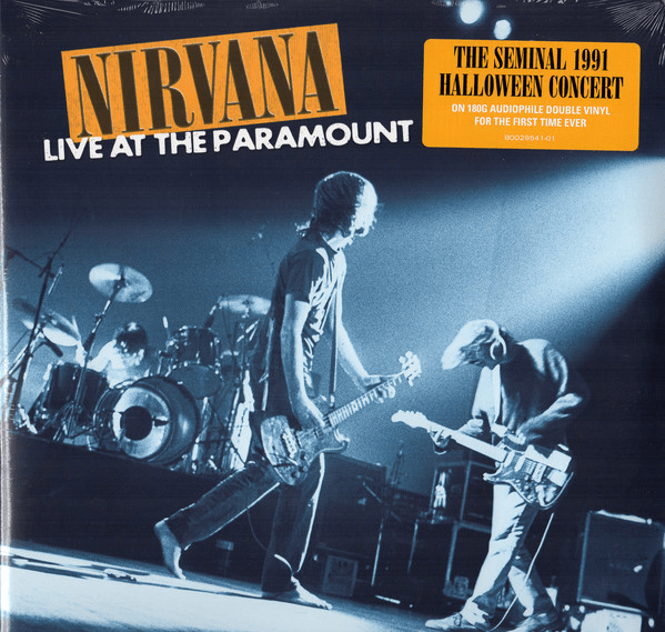 Nirvana ‎– Live At The Paramount - Flashlight Vinyl - Turntable Music