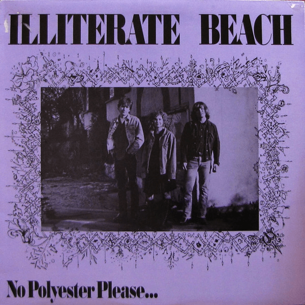Illiterate Beach ‎– No Polyester Please... EP