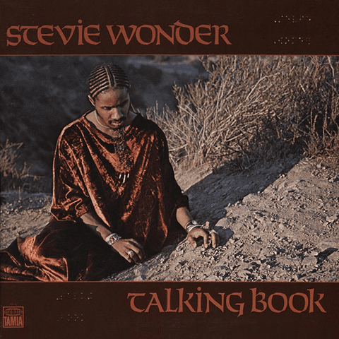 Stevie Wonder ‎– Talking Book - LP, Album, Reissue, Gatefold, Braille - Flashlight Vinyl - Turntable Music