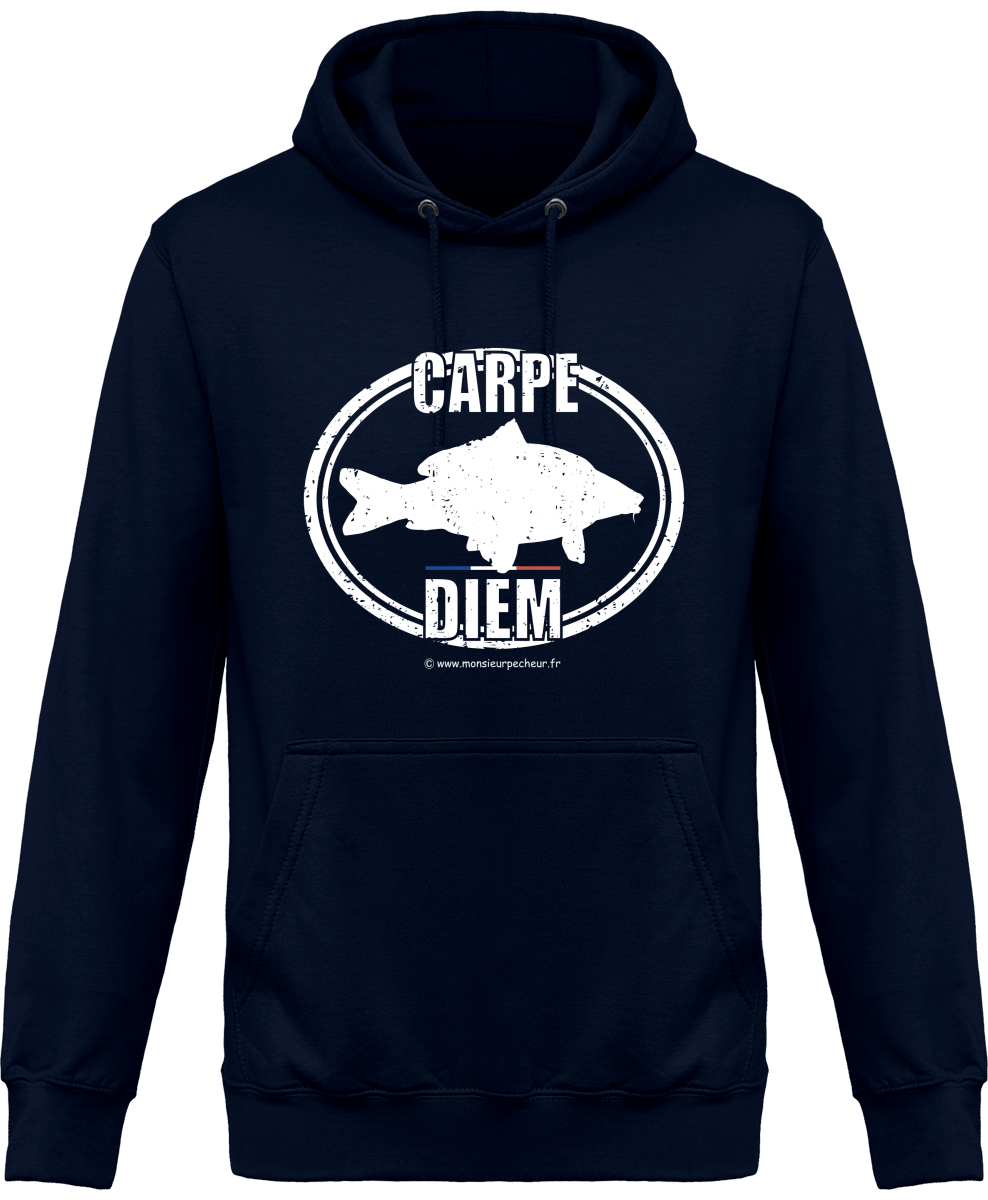 Sweat Capuche Carpe Diem