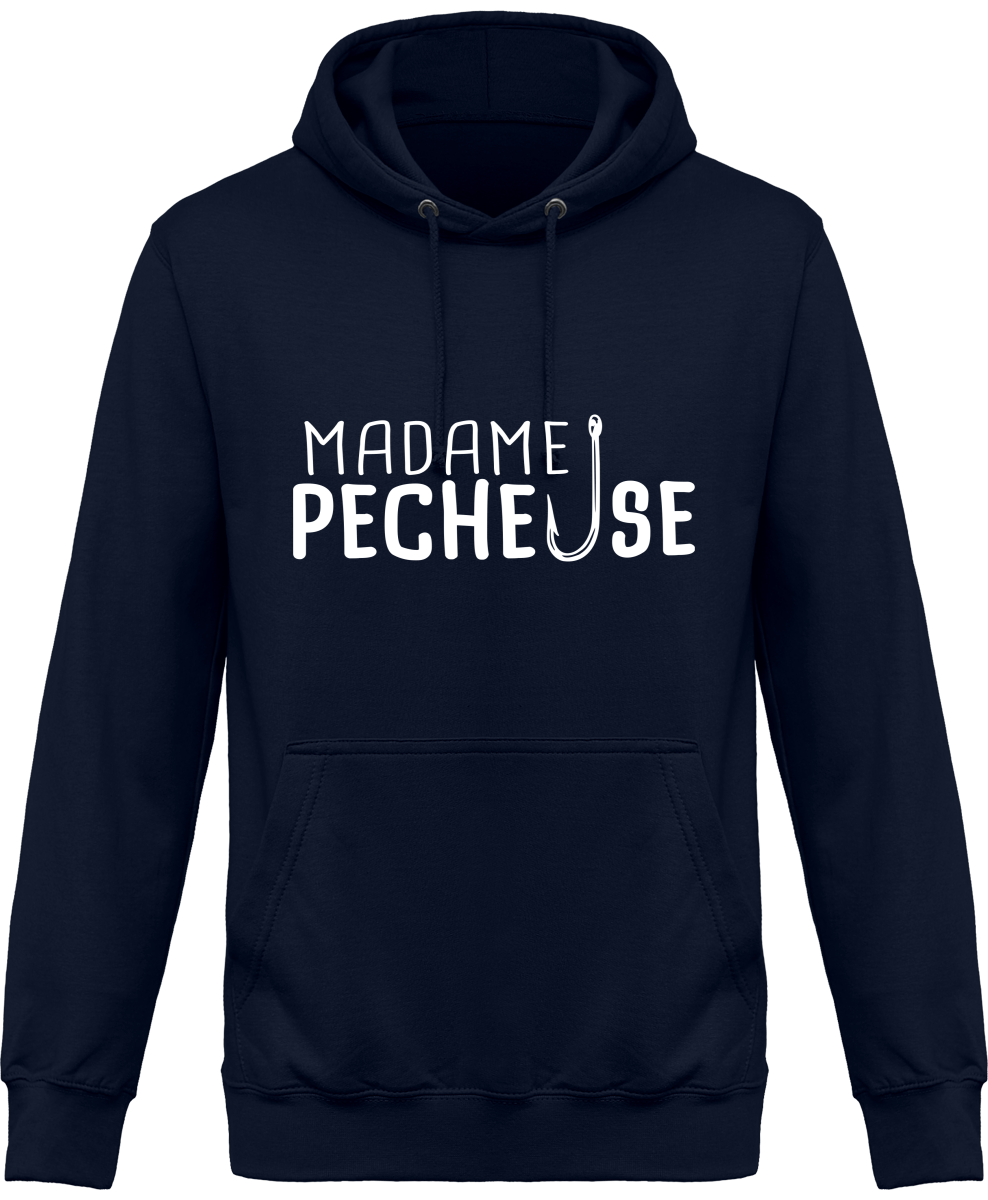 Sweat Capuche Madame Pêcheuse
