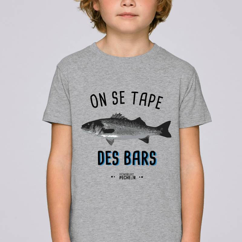 T-shirt enfant On se tape des bars