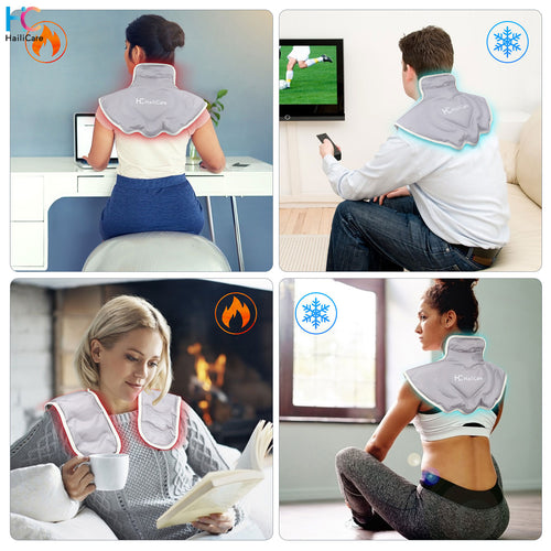 Hailicare Shoulder and neck protector (adopt hot&cold therapy) - HailiCare Health & Beauty