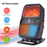3D Portable Electric Flame Heater