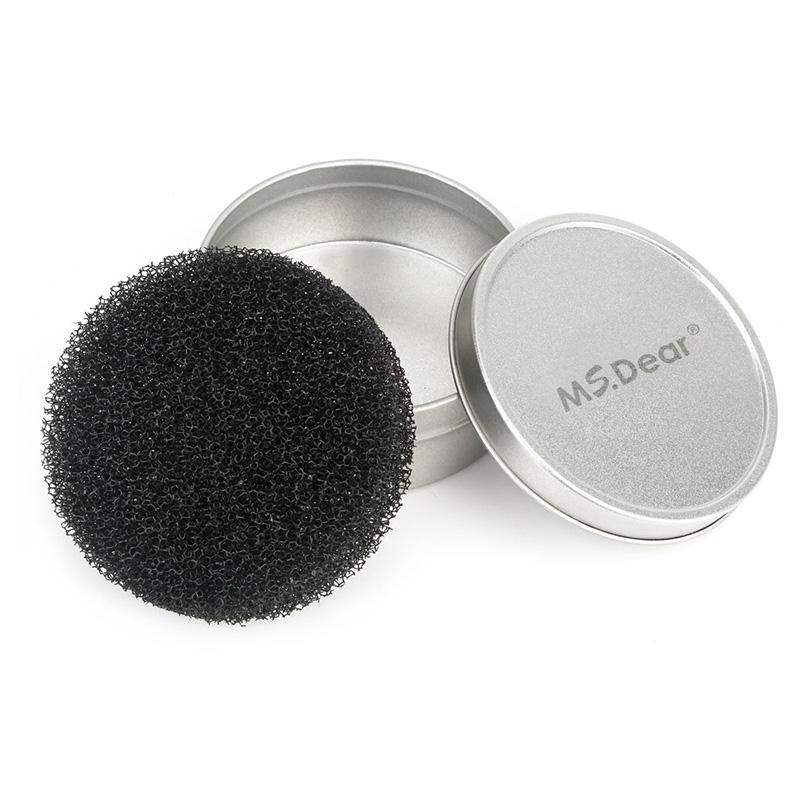 Makeup Brush Cleaner Sponge Remover Aluminum Make up Brushes Quick Cleaning Mat Box HailiCare