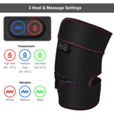 Wireless Heated Knee Wrap Knee Massager for Pain Relief