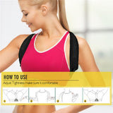 Upper Back Posture Corrector Clavicle Support Belt
