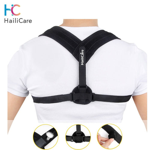 Halicare Upper Back Posture Corrector Clavicle Support Belt - HailiCare Health & Beauty