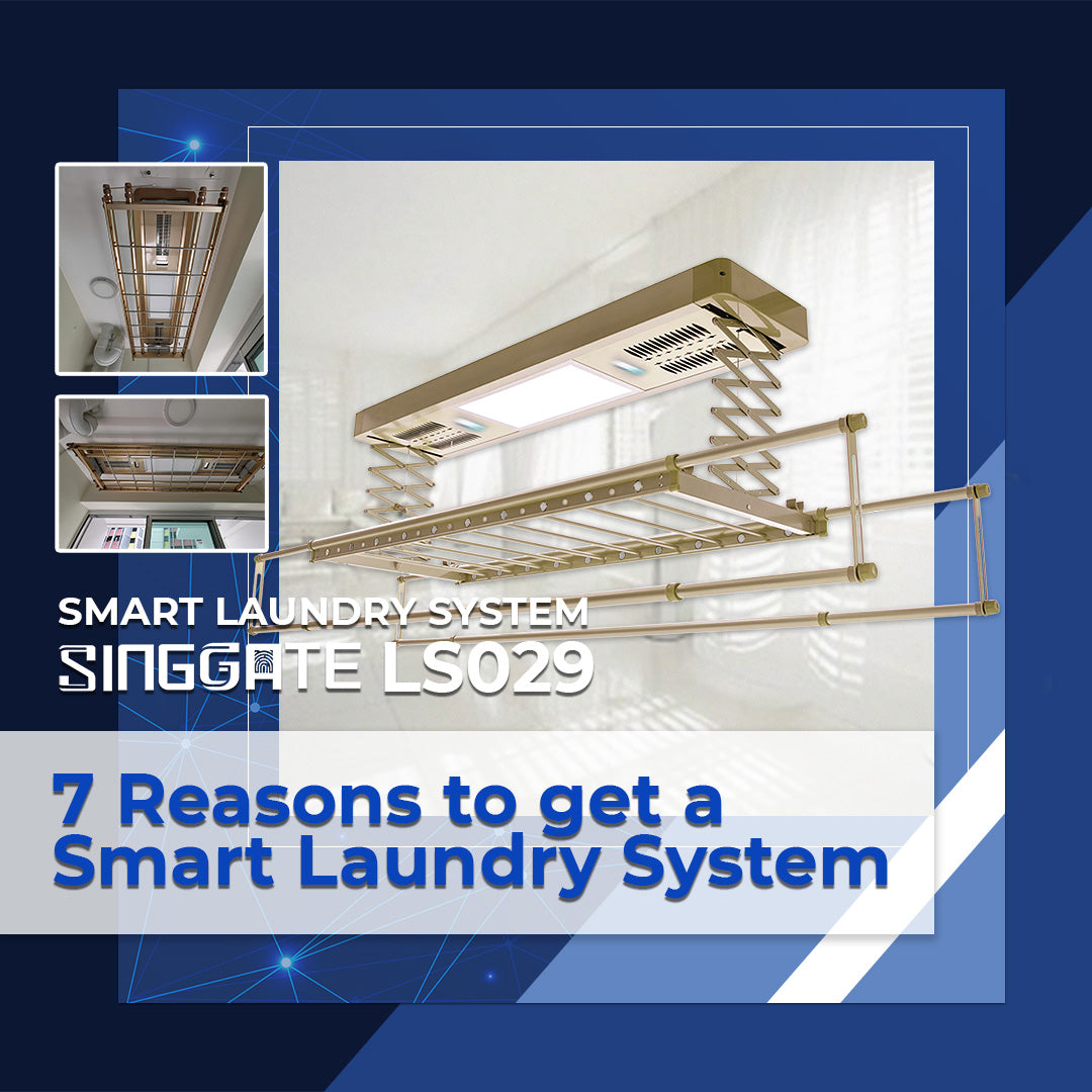 7 Reasons to get a Smart Laundry System