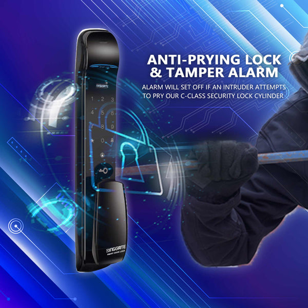 FA009 Digital Door Lock (Black)