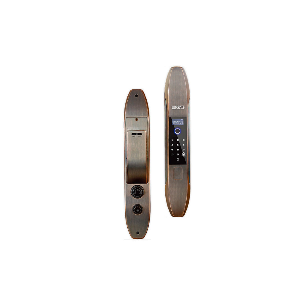 FA001 Digital Door Lock (Black Gold)