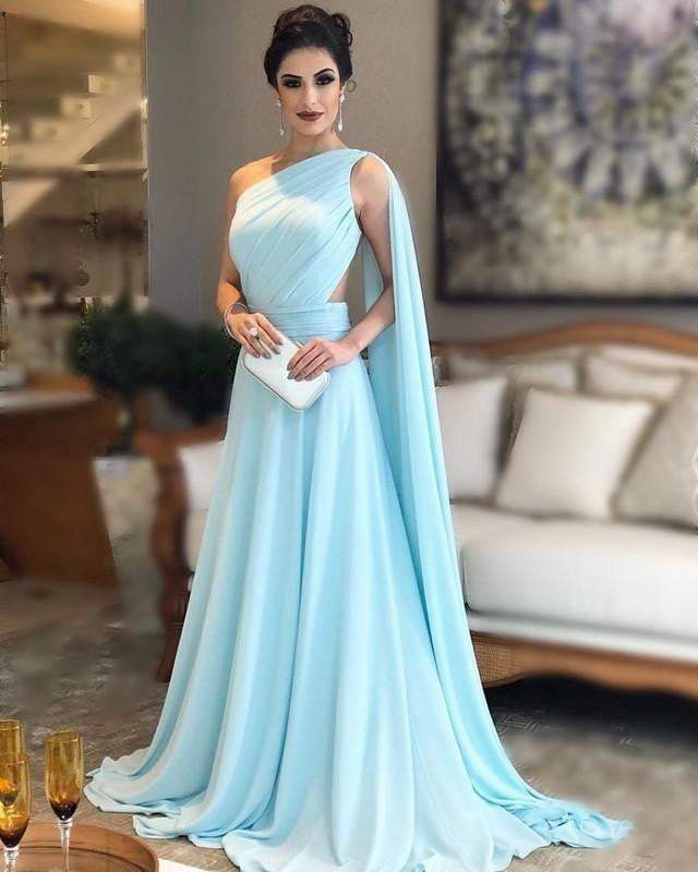 Perfectly styled up pastel blue gown - SEWBERY- PICK STITCH GET