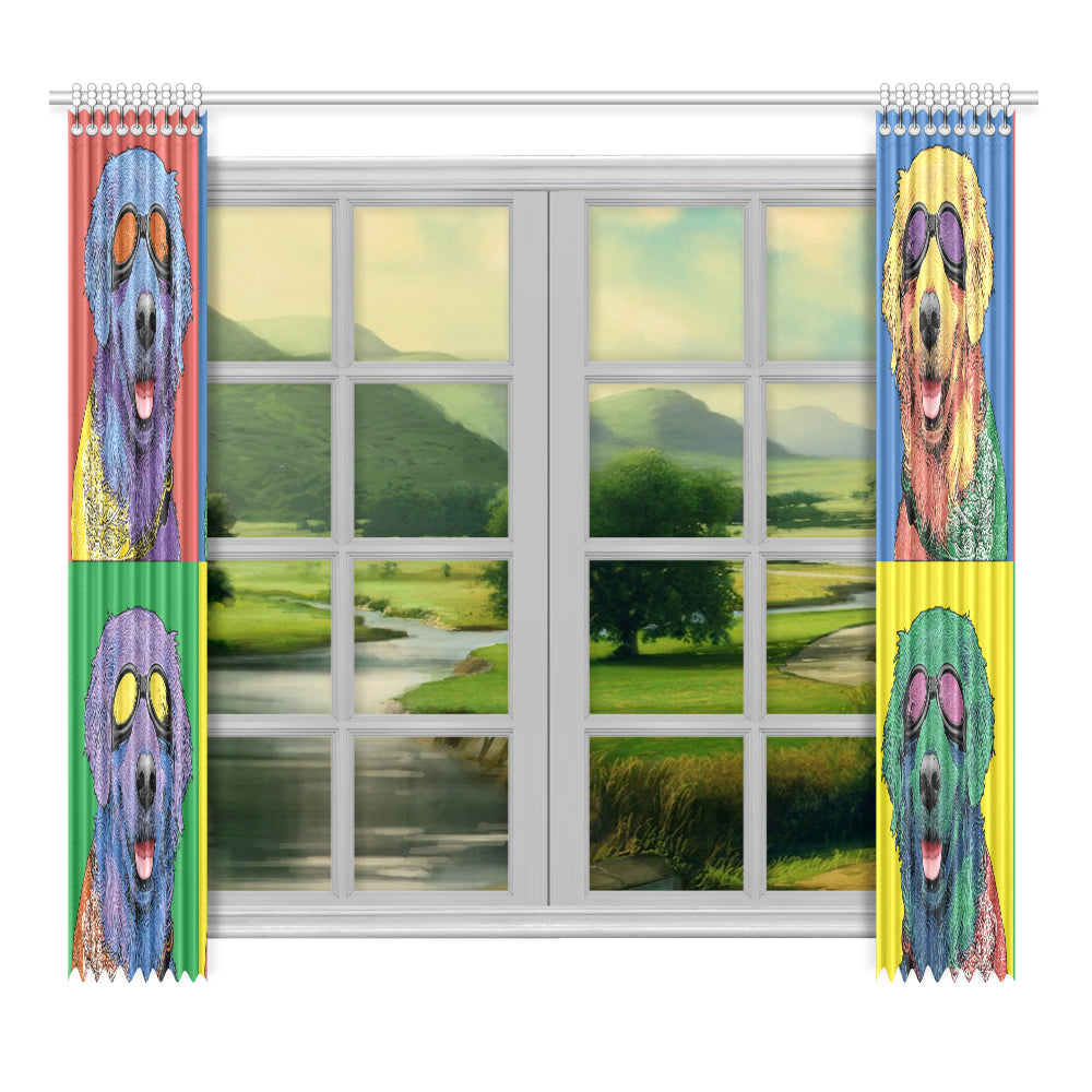 "Window Curtain 52""x96"" (Two Piece)"