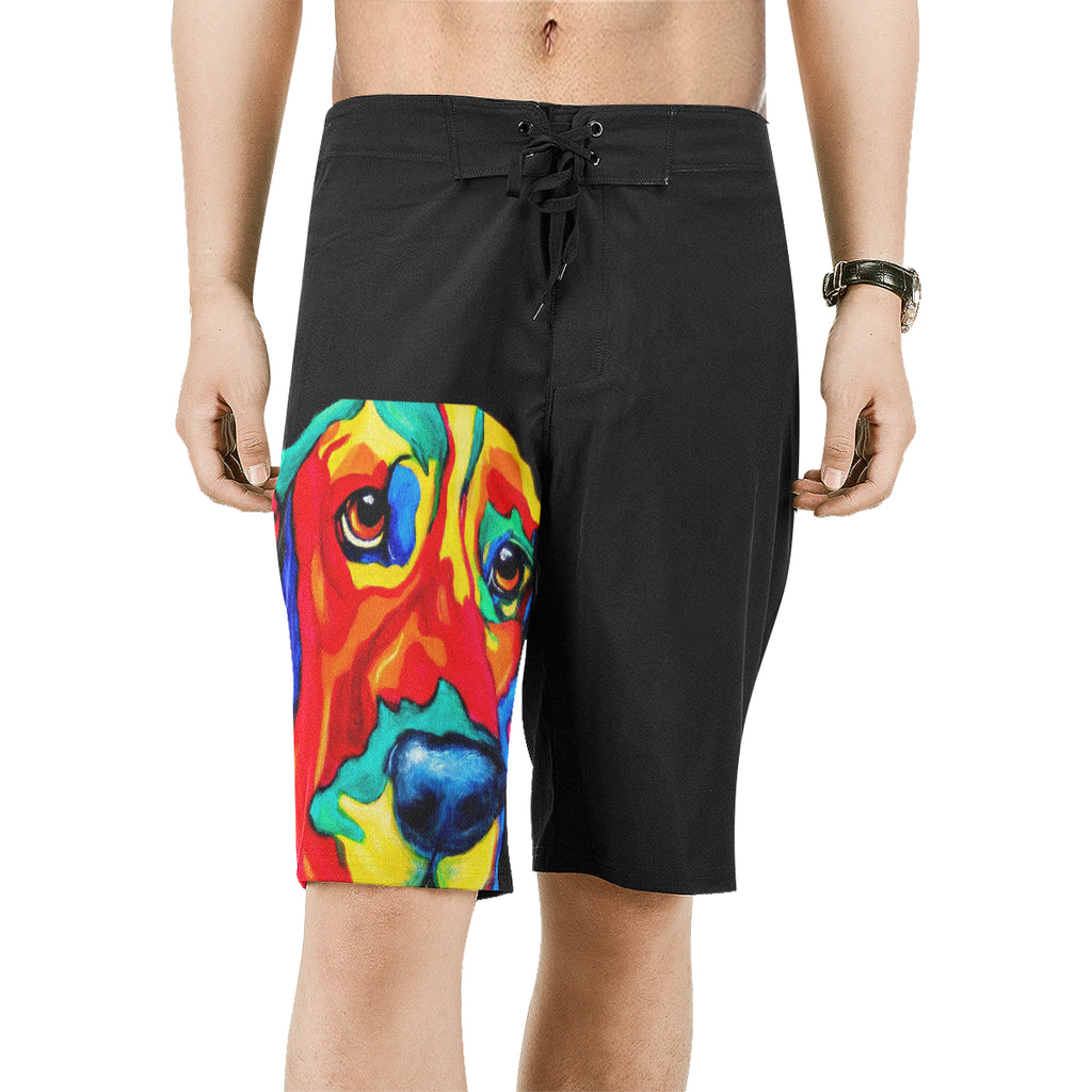 Men's All Over Print Beach Shorts (Model L16)