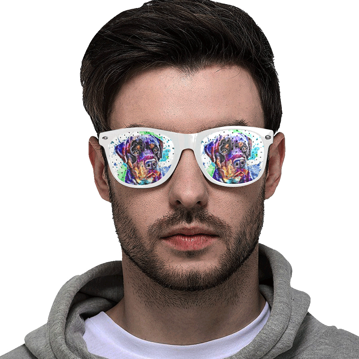 Unisex Perforated Lenses Goggles
