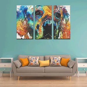 Framed Canvas Art Prints Set Z (3-4-5-Pieces) (Made In USA)
