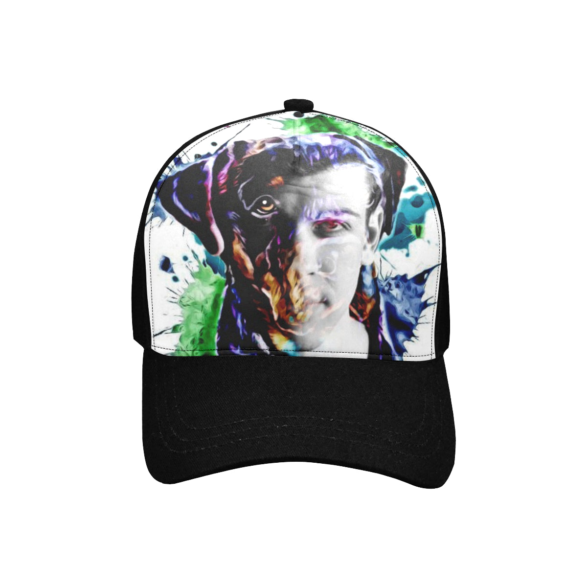 Unisex Baseball Cap F (Front Panel Customization)