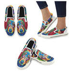 Slip-on Canvas Kid's Shoes (Big Kid) (Model 019)