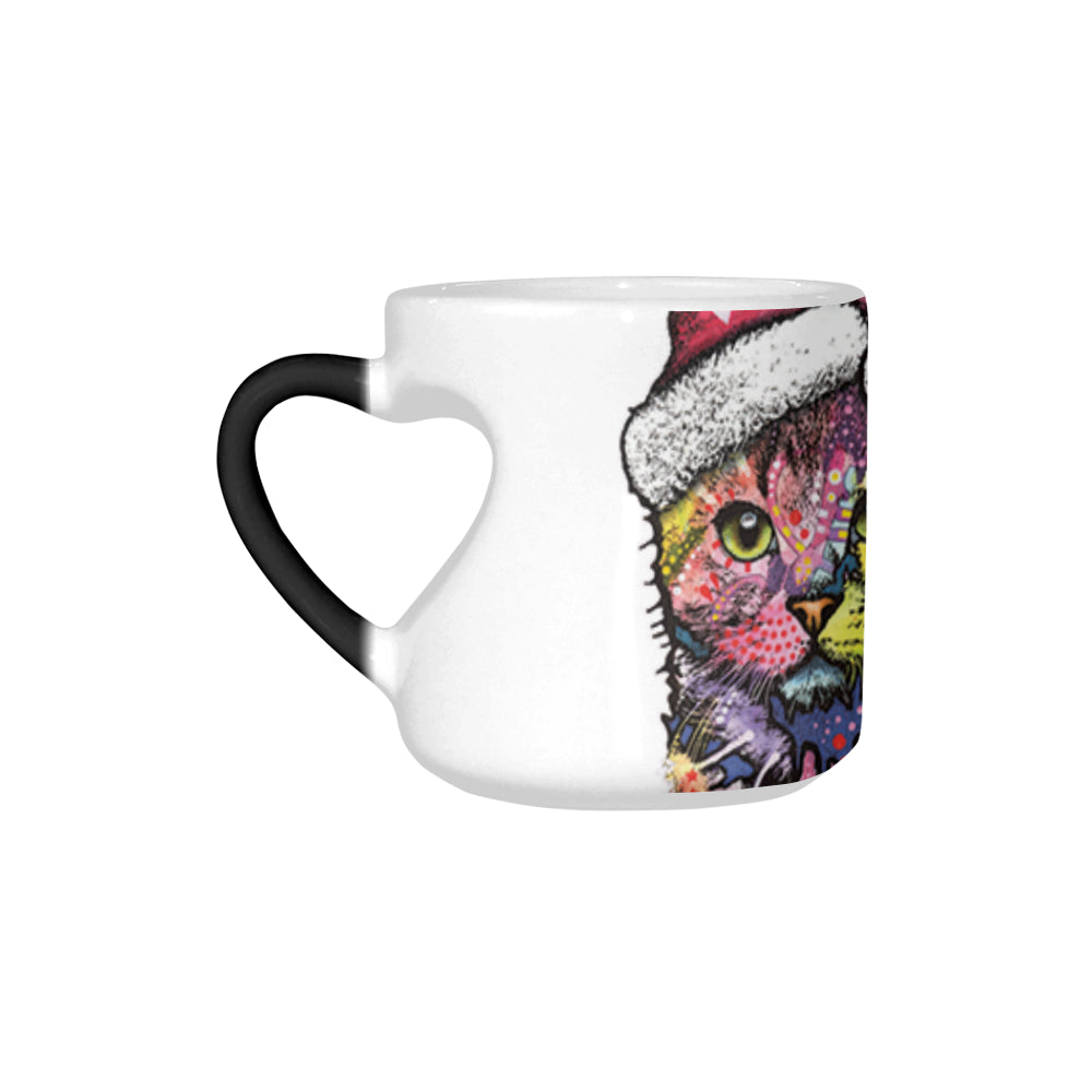 Heart-shaped Morphing Mug