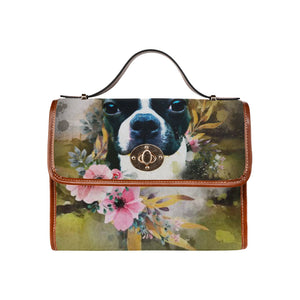 Personalize Waterproof Canvas Bag (All Over Print) (Model 1641)