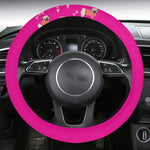 Personalized Steering Wheel Cover with Anti-Slip Insert