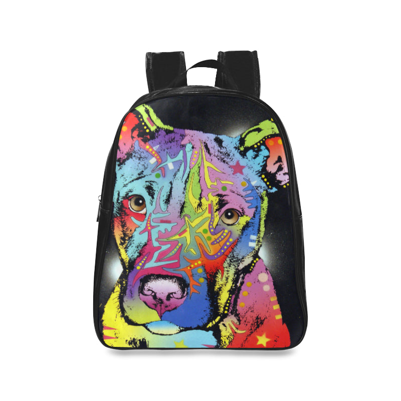 School Bag High-grade PU Leather