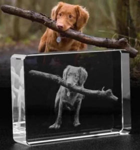 Personalized Photo-Engraved Crystal 3 Styles