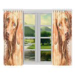 "Window Curtain 52""x84"" (Two Piece)"