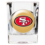 Personalized NFL Shot Glass - 49er's