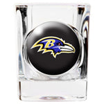 Personalized NFL Shot Glass - Ravens