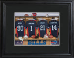 NFL Locker Print with Matted Frame - Bills