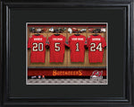 NFL Locker Print with Matted Frame - Bucaneers