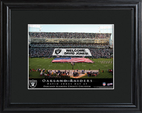 NFL Stadium Print - Raiders