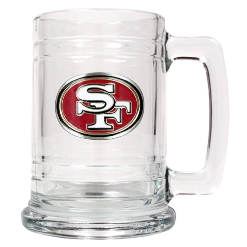 Personalized NFL Emblem Mug - San Francisco 49er's