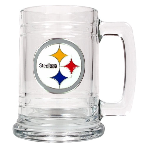 Personalized NFL Emblem Mug - Pittsburgh Steelers