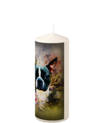 Personalized Pillar Candle
