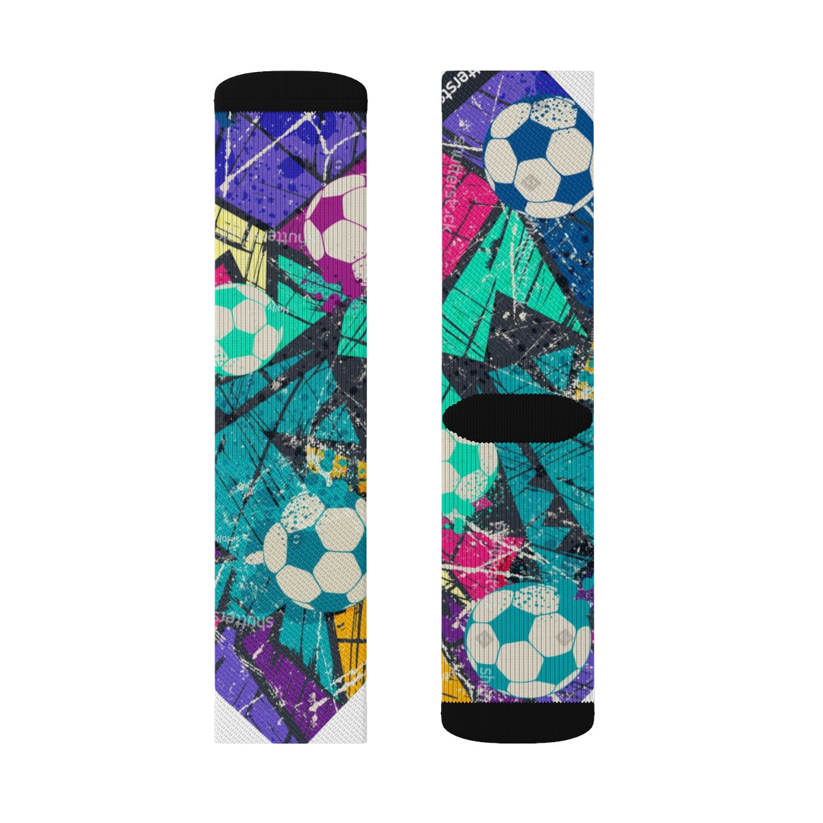 Custom Sublimation Socks