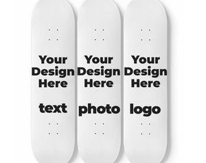 Personalize Skateboard Wall Art