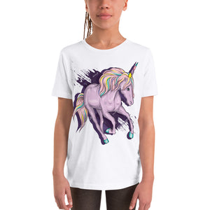 Bella + Canvas 3001Y Youth Short Sleeve Tee with Tear Away Label