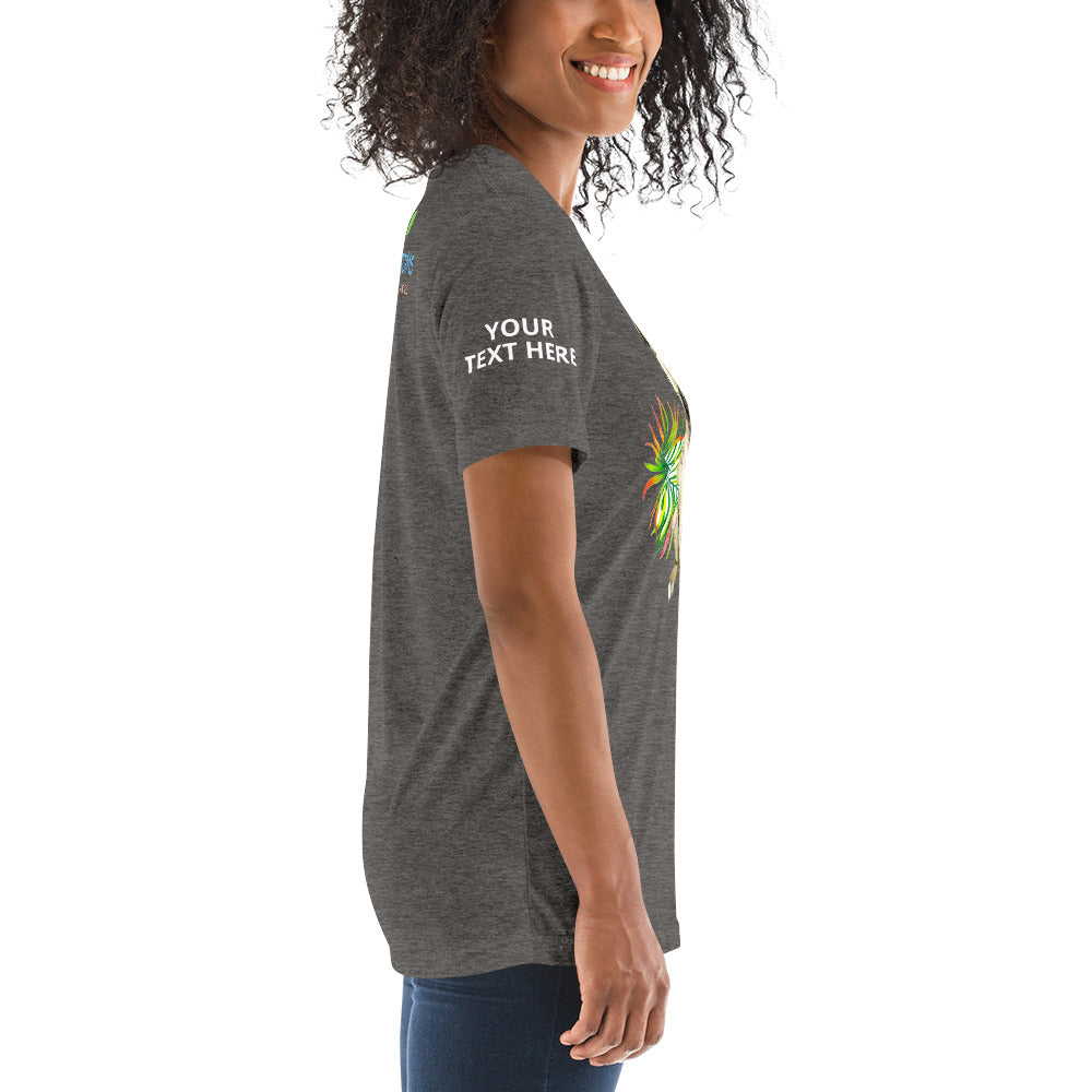 Bella + Canvas 3413 Unisex Triblend Short Sleeve T-Shirt with Tear Away Label