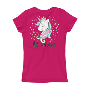 Next Level 3710 Girl's The Princess Tee with Tear Away Label