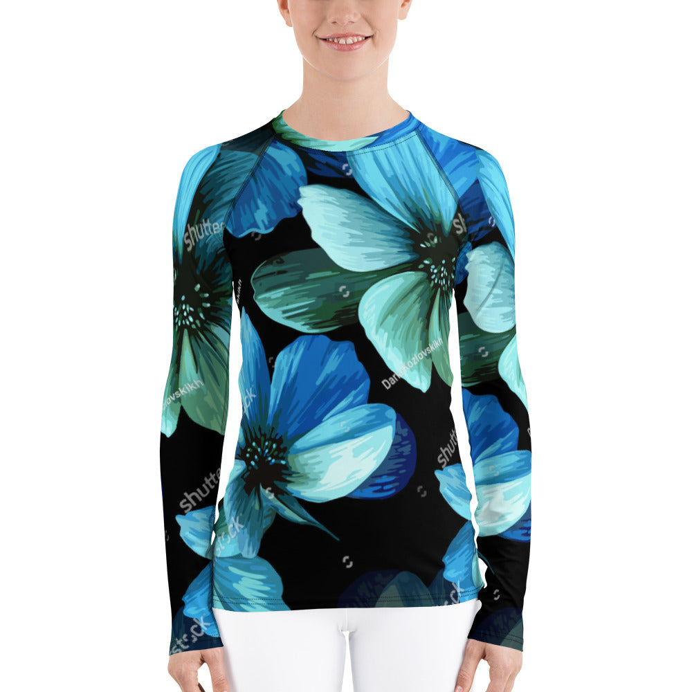 All-Over Print Women's Rash Guard