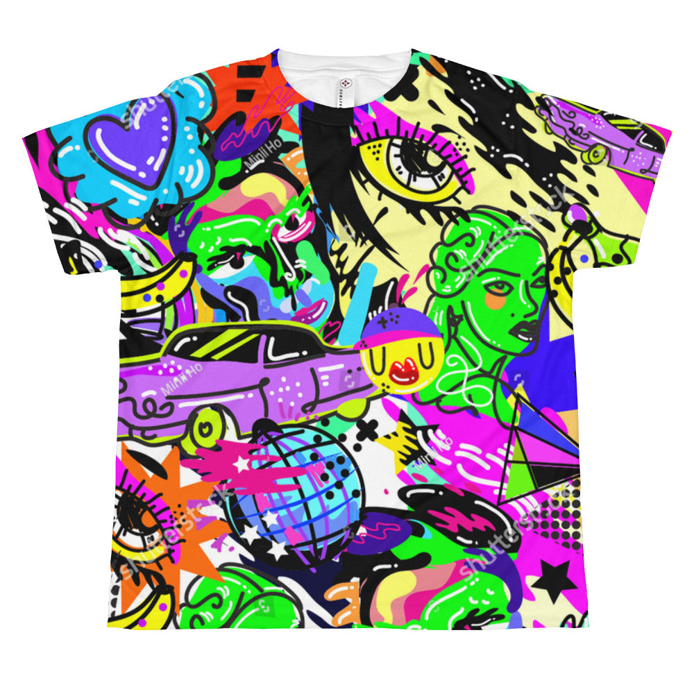 SubliVie 1210 Youth Sublimation All Over Print Tee