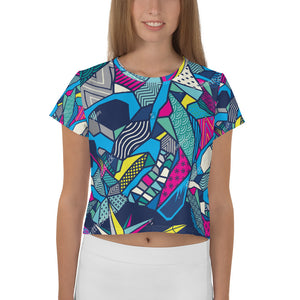 All-Over Print Crop Tee