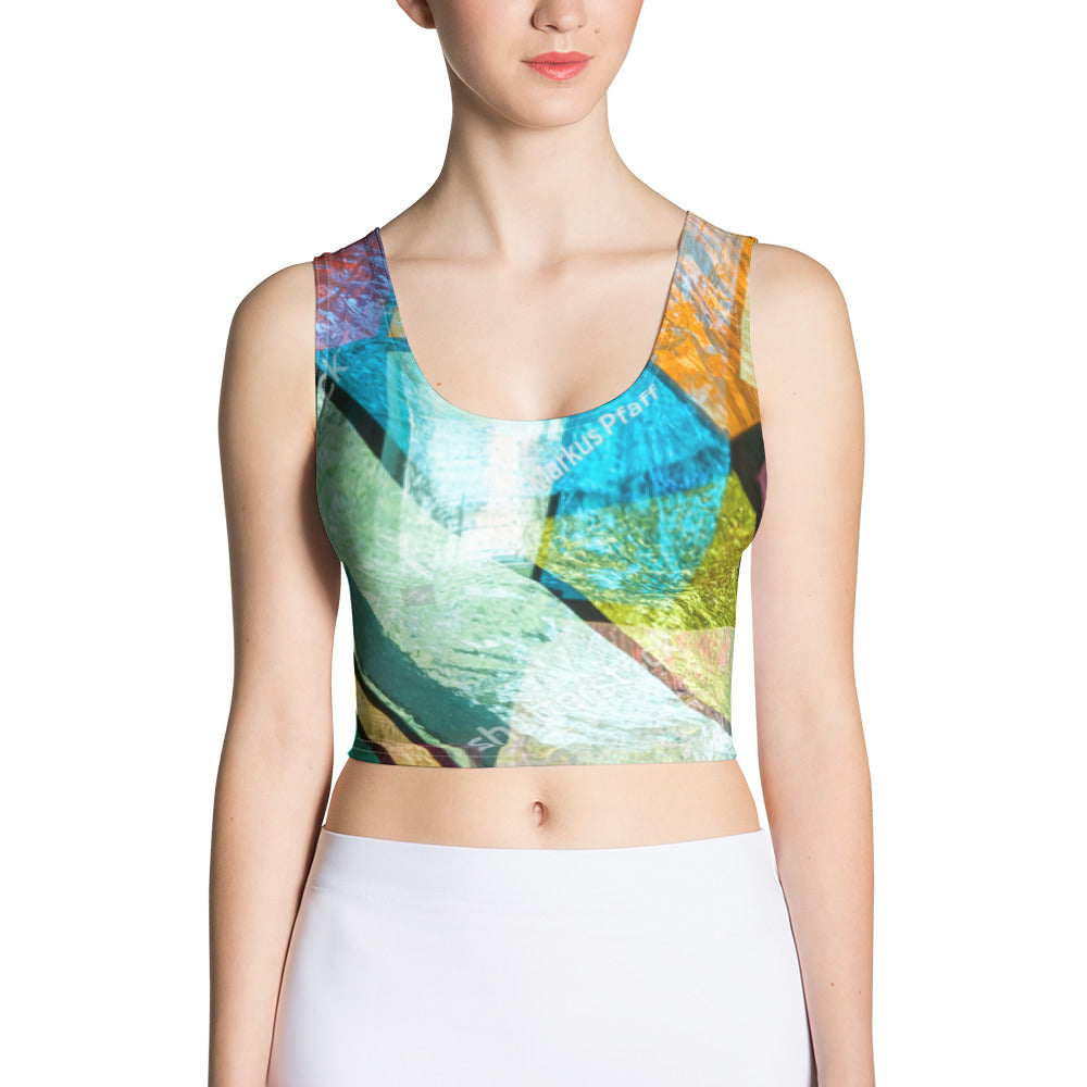 All-Over Print Crop Top